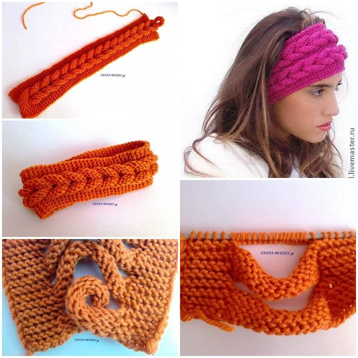 Crochet Knitting Tutorial : DIY Knitted Headband Tutorial Pictures, Photos, and Images for ...