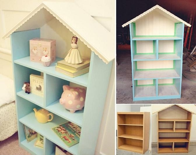 Diy Dollhouse Bookshelf Pictures Photos And Images For Facebook