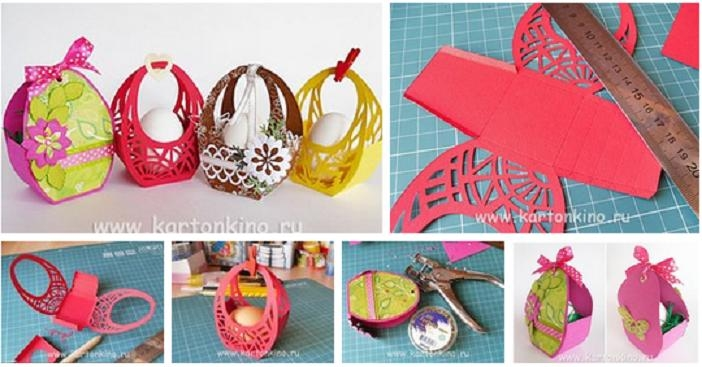 Diy paper easter basket pictures photos and images for facebook diy paper easter basket negle Images