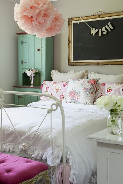 Girly Vintage Bedroom Pictures, Photos, And Images For