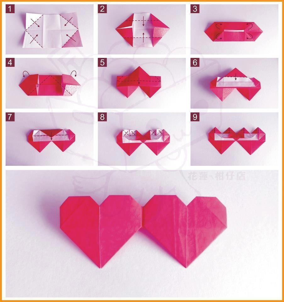 paper origami heart The origami heart is such a thoughtful gift for a loved one made with special paper and with you own hands, what could be sweeter for a printable pdf version of.