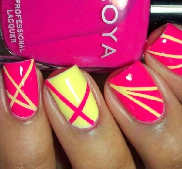 Pink And Yellow Nails Pictures, Photos, and Images for Facebook ...