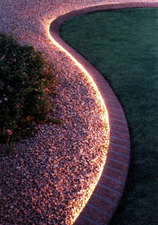 Rope light landscaping idea pictures photos and images for rope light landscaping idea aloadofball Choice Image