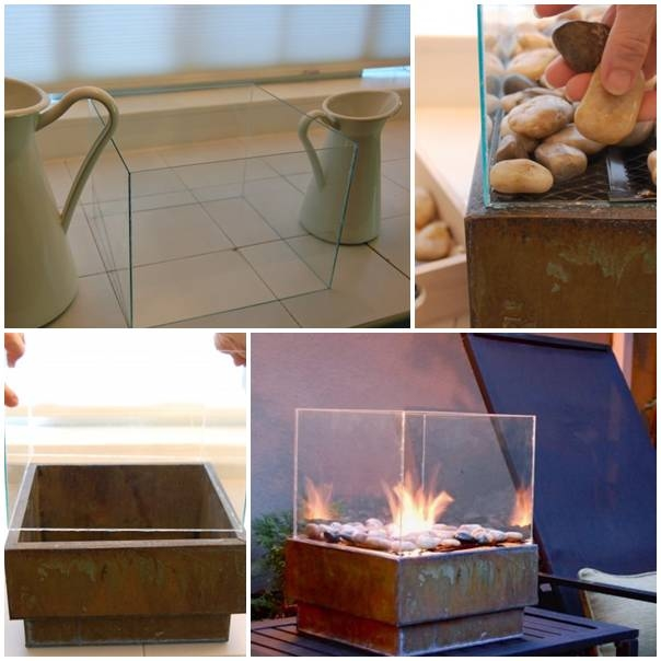 How To Make A Personal Fire Pit For Cheap Pictures Photos