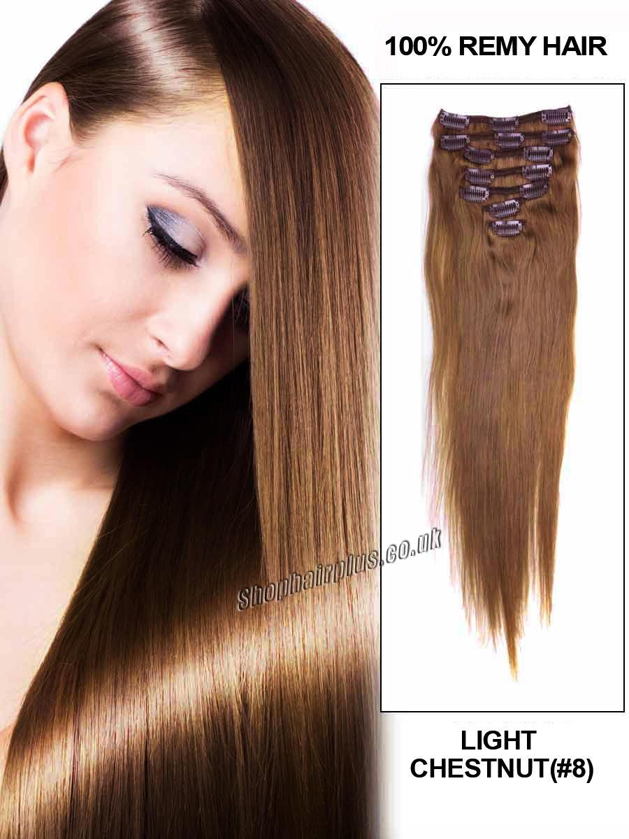 Remy Clip In Hair Extension 82