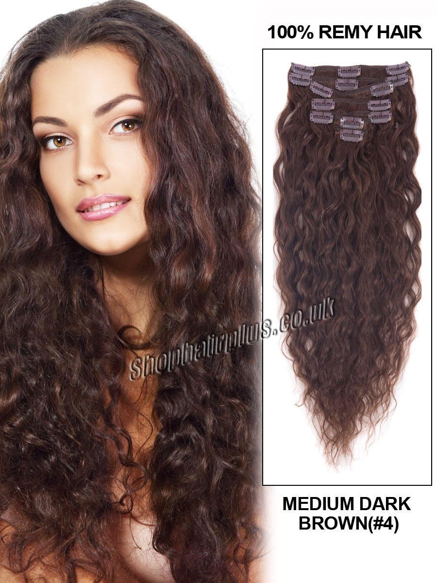 Remy Curly Hair Extensions Clip In 82