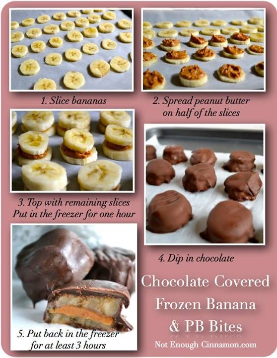 Chocolate Covered Banana Recipe Pictures, Photos, and ...