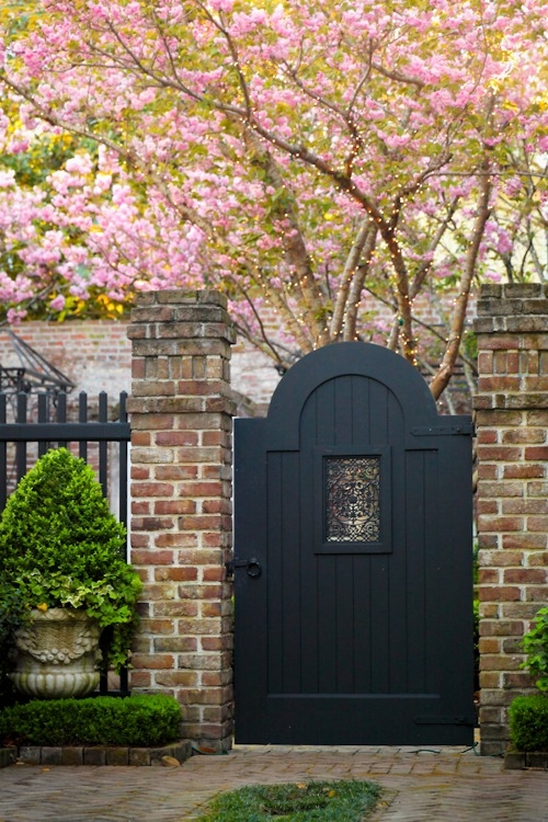 Painted Wooden Gate Pictures, Photos, and Images for ...