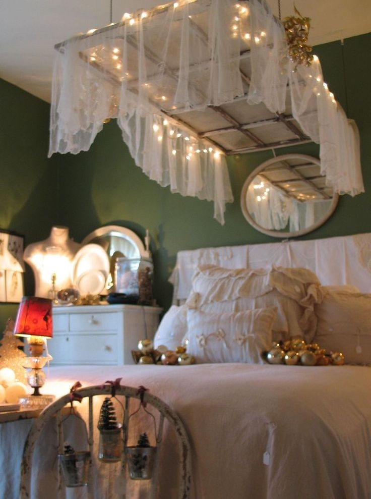 Old Window As A Canopy Above Bed Pictures Photos And