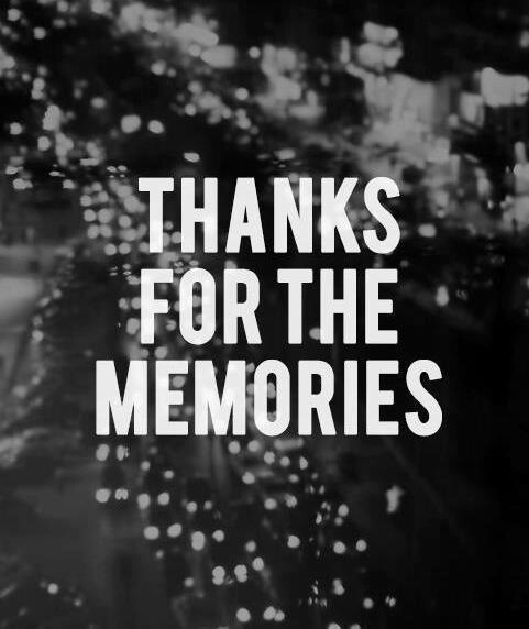 thanks for the memories pictures photos and images for