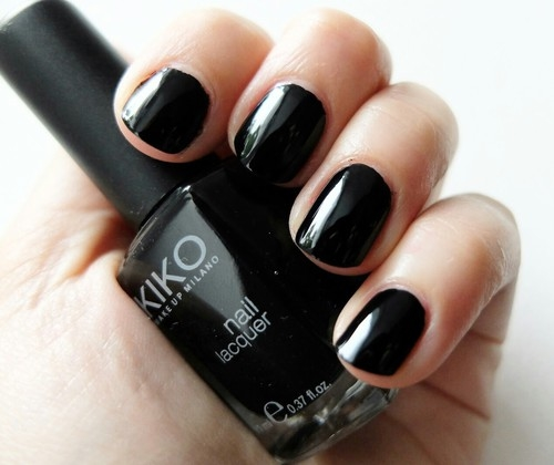 Kiko Black Nail Lacquer Pictures Photos And Images For Facebook