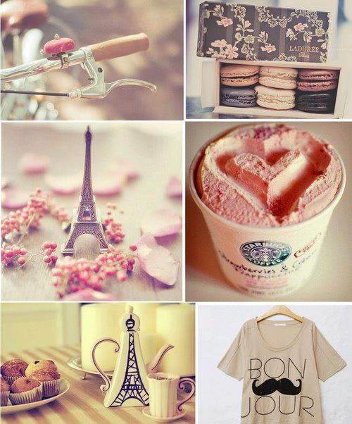 girly collage wallpaper - photo #26