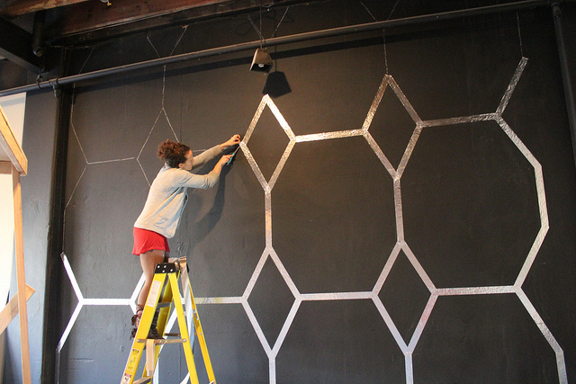 Foil DIY Wall Design. Foil DIY Wall Design Pictures  Photos  and Images for Facebook