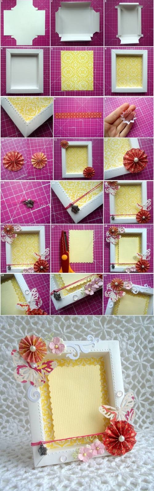 DIY Picture Frames Pictures, Photos, and Images for ...