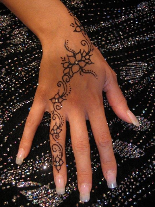 Mehndi Henna Design On Hands Pictures Photos And Images For