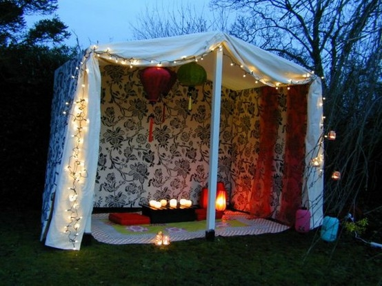 Romantic Backyard Date Ideas : Romantic Boho Tent Pictures, Photos, and Images for Facebook, Tumblr