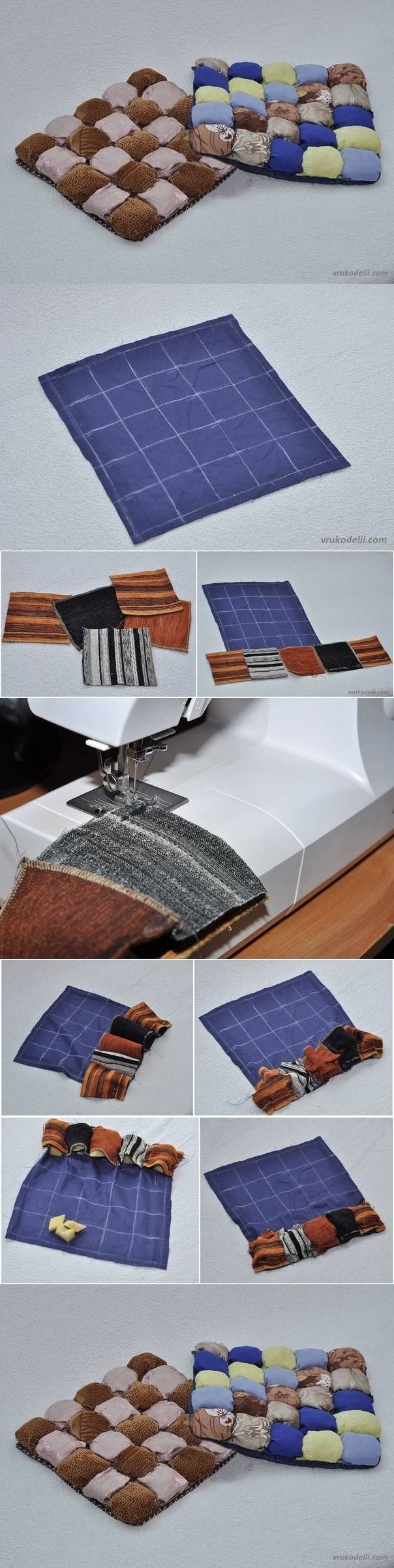 DIY Seat Cushions for Chairs