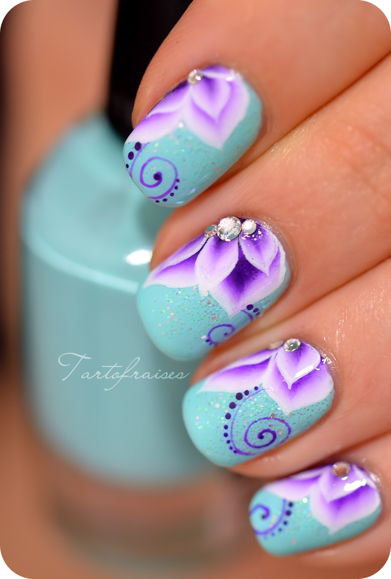 Flower Nail Designs - Flower Nail Designs Pictures, Photos, And Images For Facebook