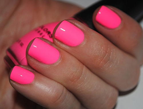 Glow In The Dark Hot Pink Nails Pictures, Photos, and ...