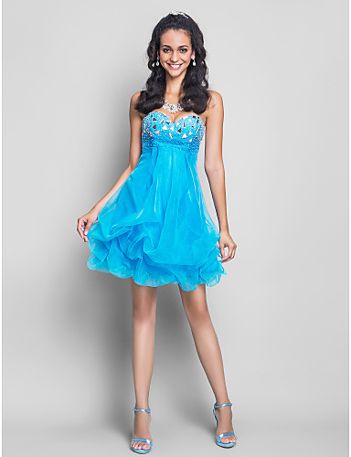 Short Turquoise Party Dress Pictures- Photos- and Images for ...