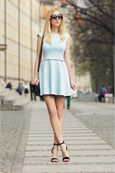 light blue knit shirt amp top outfit pictures photos and
