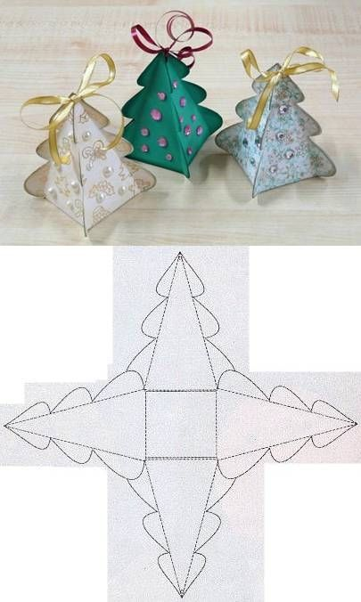 DIY Christmas Tree Box Template Pictures, Photos, and Images for Facebook, Tumblr, Pinterest ...