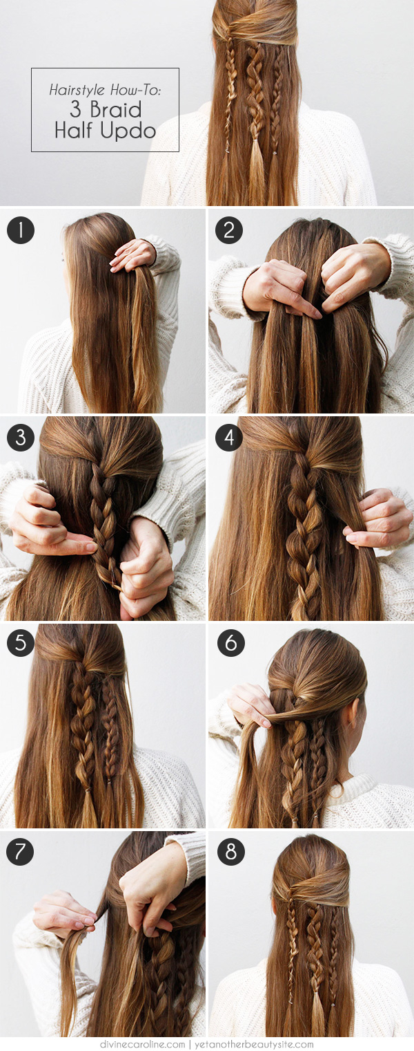 3 Braid Half Updo Pictures Photos And Images For