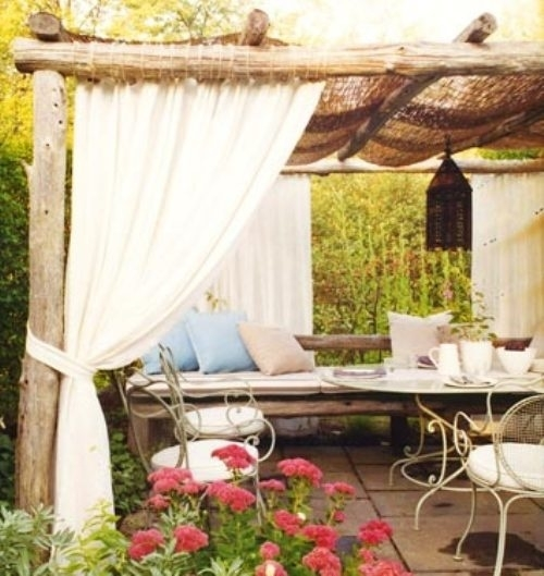 Rustic outdoor garden room pictures photos and images for Pinterest outdoor garden rooms