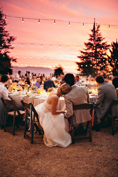 Sunset Wedding Party Pictures, Photos, and Images for