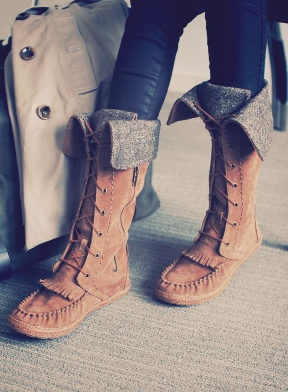 Diy Moccasin Boots Projects Ideas