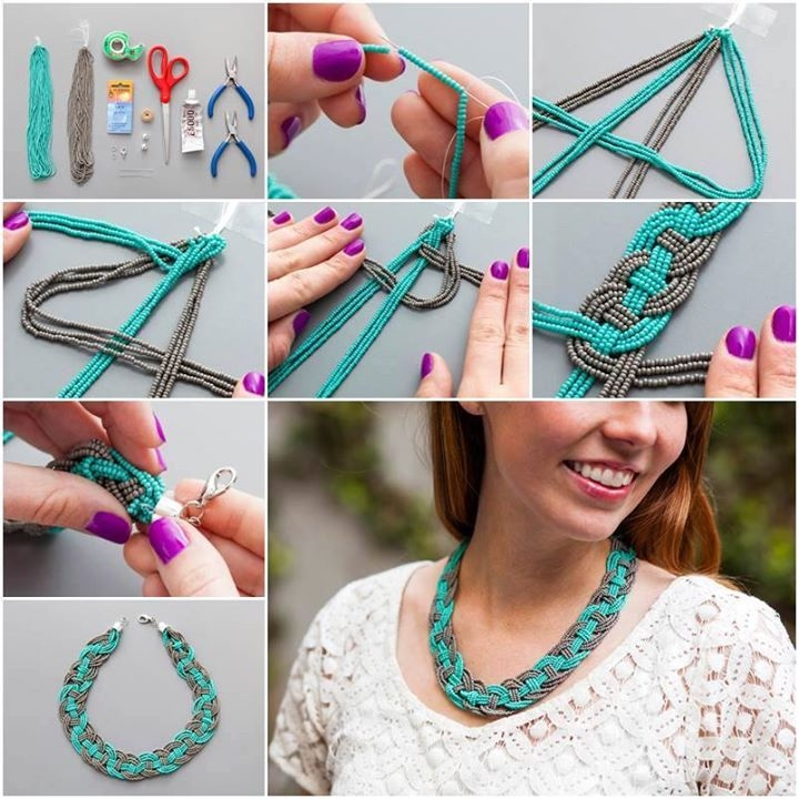 DIY Woven Bead Necklace Pictures, Photos, and Images for Facebook ...