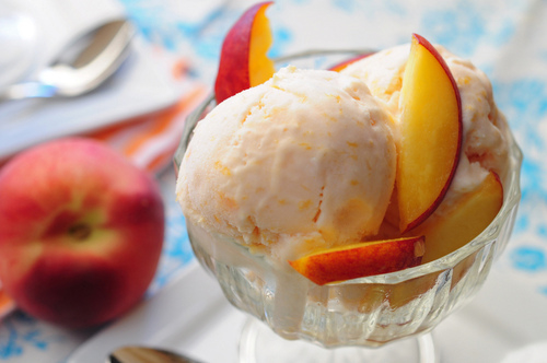 Peach Ice Cream Pictures, Photos, and Images for Facebook, Tumblr ...