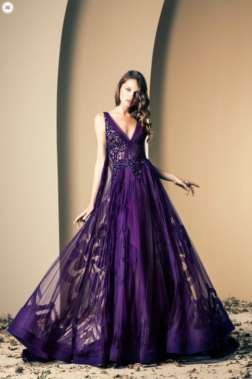 Purple Evening Gown Pictures, Photos, and Images for Facebook ...