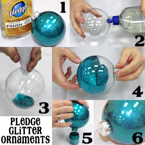 DIY Pledge Glitter Ornament Pictures, Photos, And Images