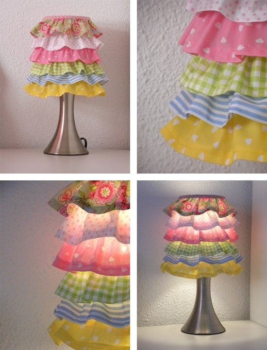 Cute ruffled lamp shade pictures photos and images for facebook cute ruffled lamp shade mozeypictures Gallery