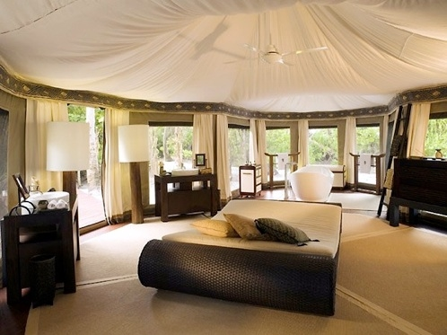 luxury tent pictures photos and images for facebook. Black Bedroom Furniture Sets. Home Design Ideas