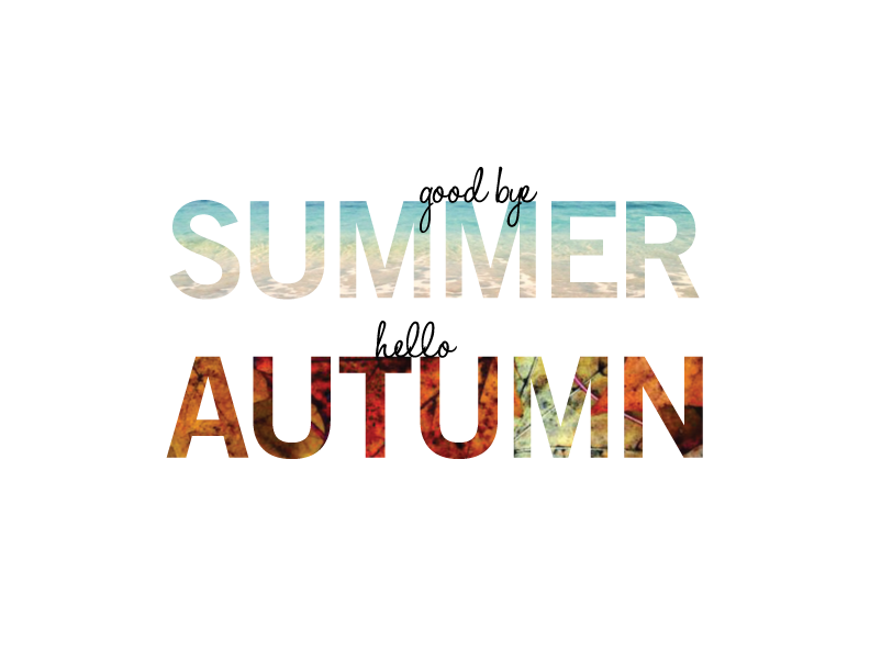 Related Image Of Goodbye Summer Hello Fall Greeting Photo Quote