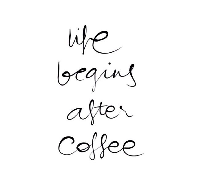 Life Begins After Coffee Pictures, Photos, and Images for ...