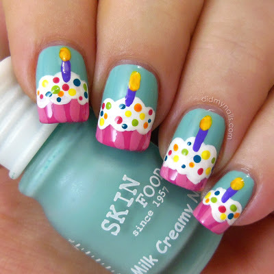 Cupcake Nail Art Pictures Photos And Images For Facebook Tumblr