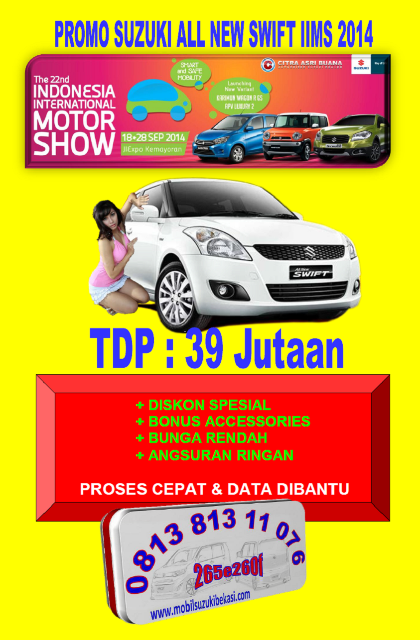 Promo Suzuki All New Swift IIMS 2014 Pictures, Photos, and Images for