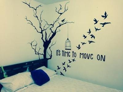 Its time to move on pictures photos and images for for Tumblr bedroom ideas quotes