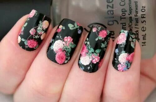 Floral Rose Nails Pictures, Photos, and Images for Facebook, Tumblr ...