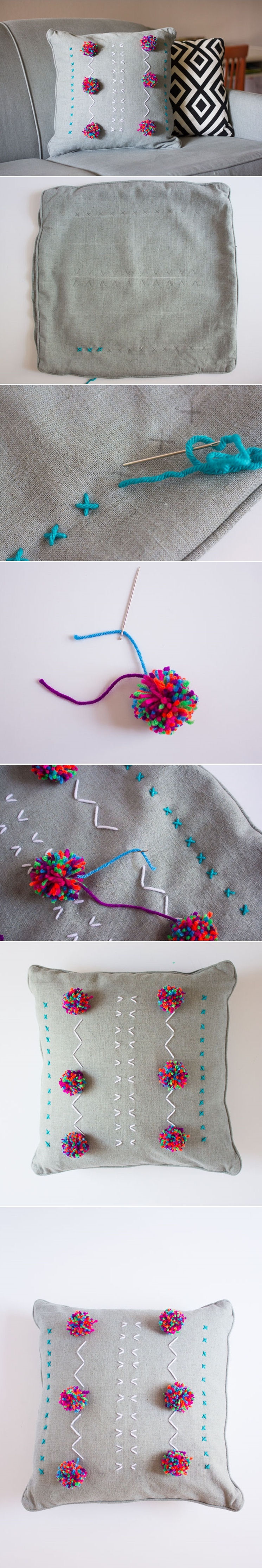 Diy embroidered pillows pictures photos and images for