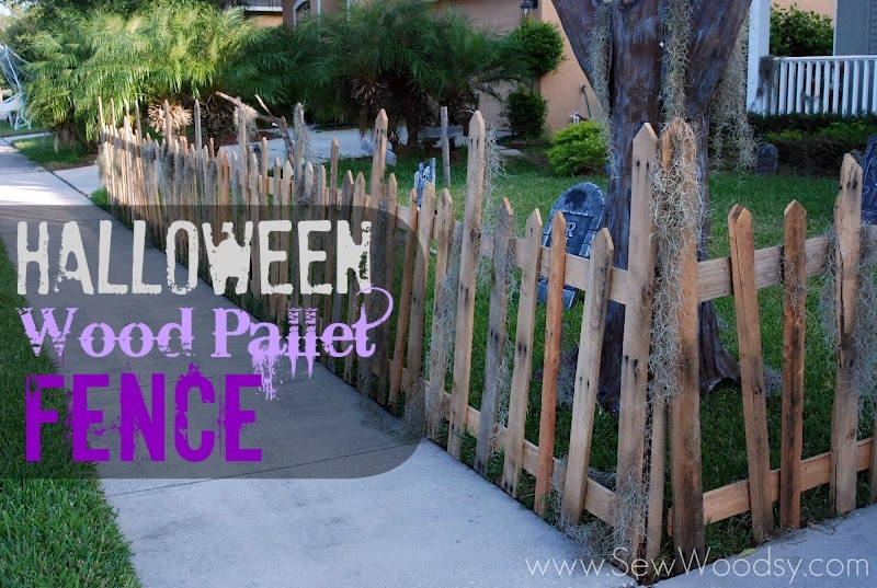 Halloween Wood Pallet Fence Pictures Photos And Images