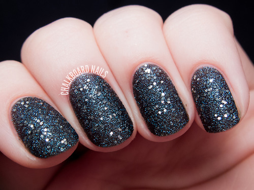 Glitter Black Nails Pictures Photos And Images For Facebook