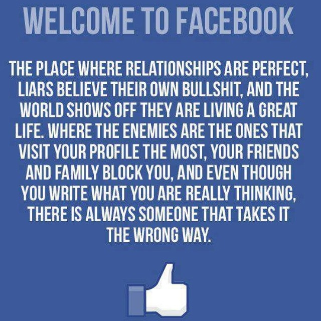 to welcome facebook