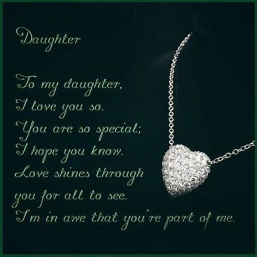 How I Love My Daughter Quotes: Daughter Quotes For Facebook. QuotesGram