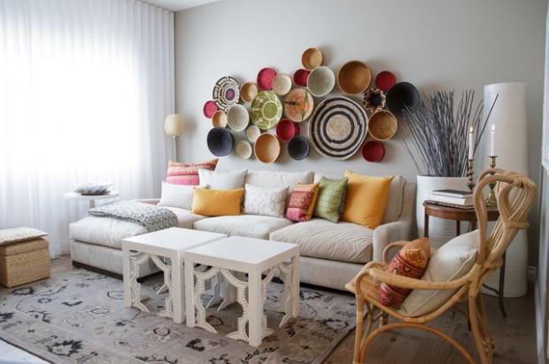 Decorating With Bowls New Decorating Wall With Plates Bowls & Baskets Pictures Photos And Design Ideas