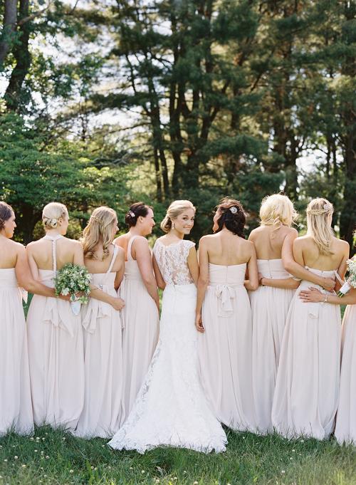 Bride Her Bridesmaids