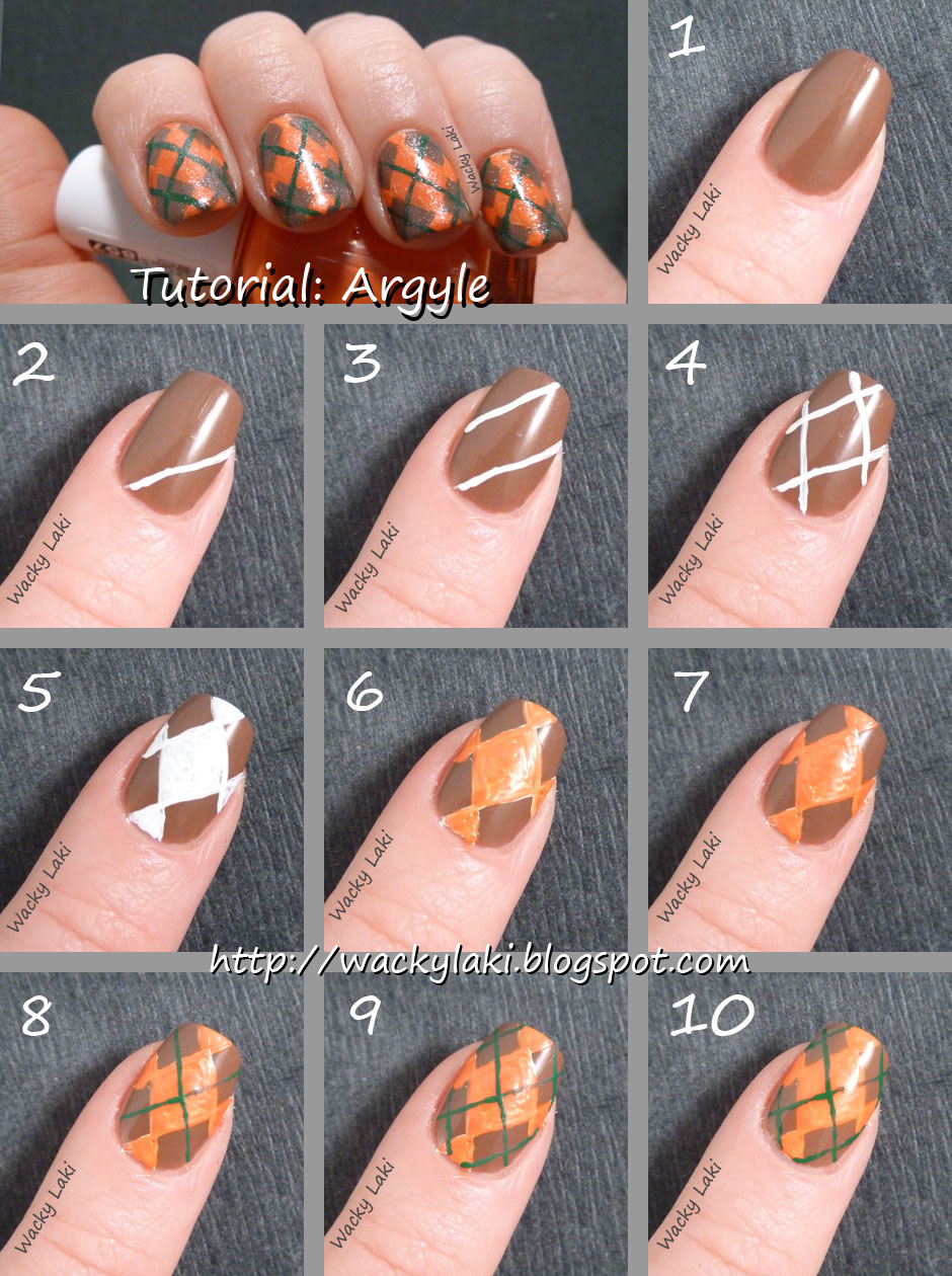 Argyle Nail Art Tutorials Pictures, Photos, and Images for Facebook ...